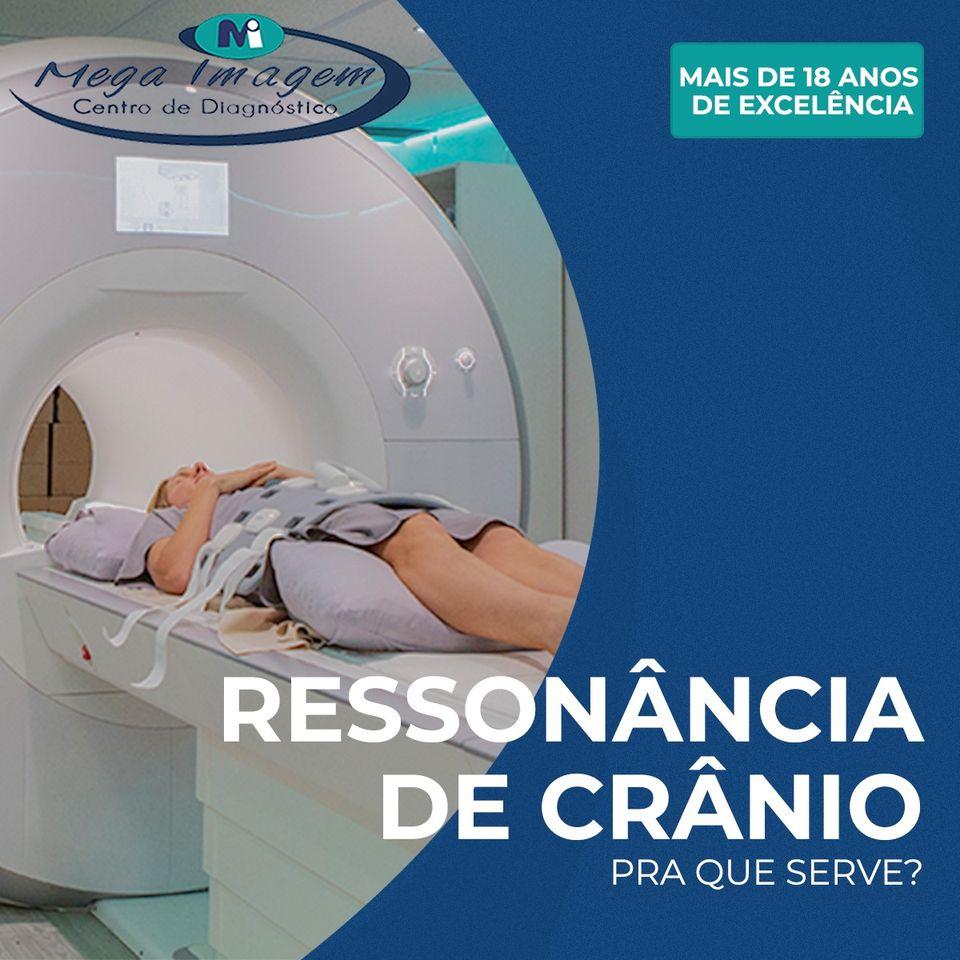 Ressonância Magnética de Crânio