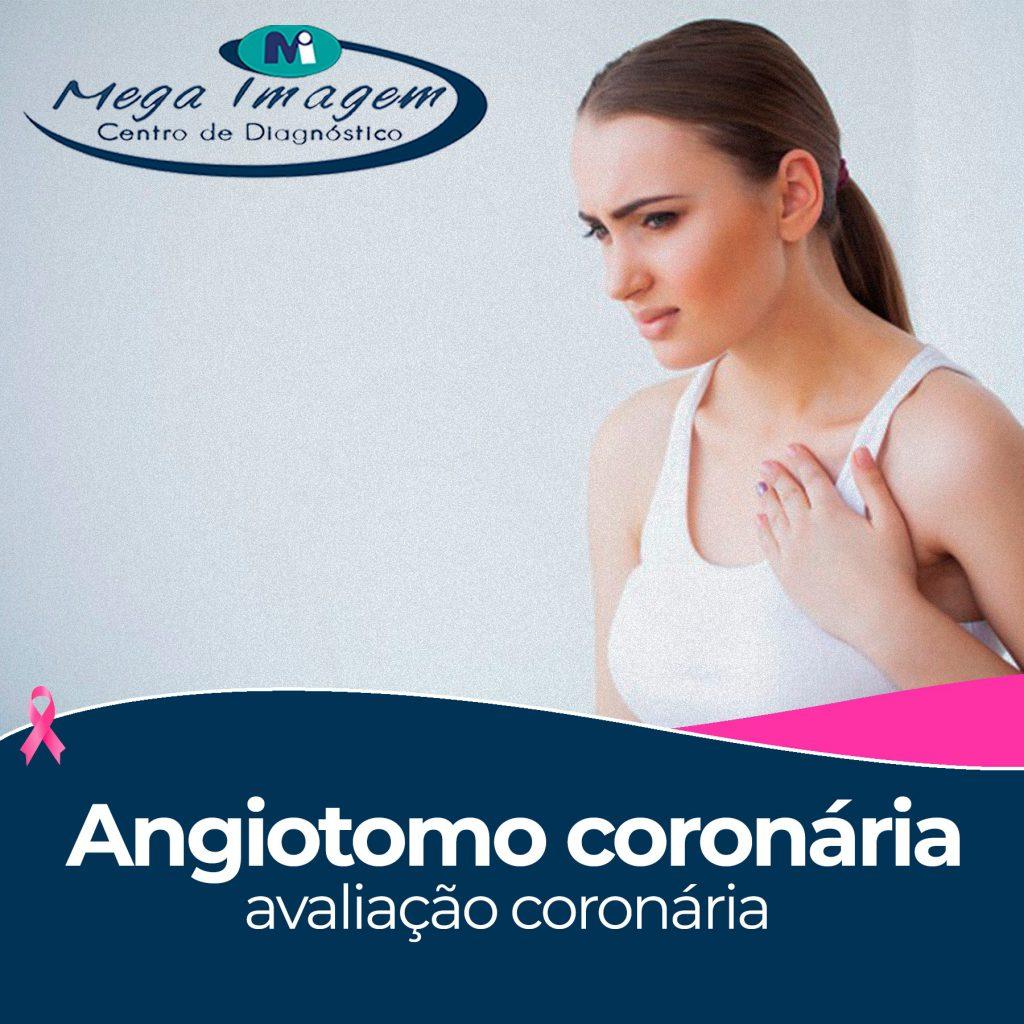 Angiotomografia coronária