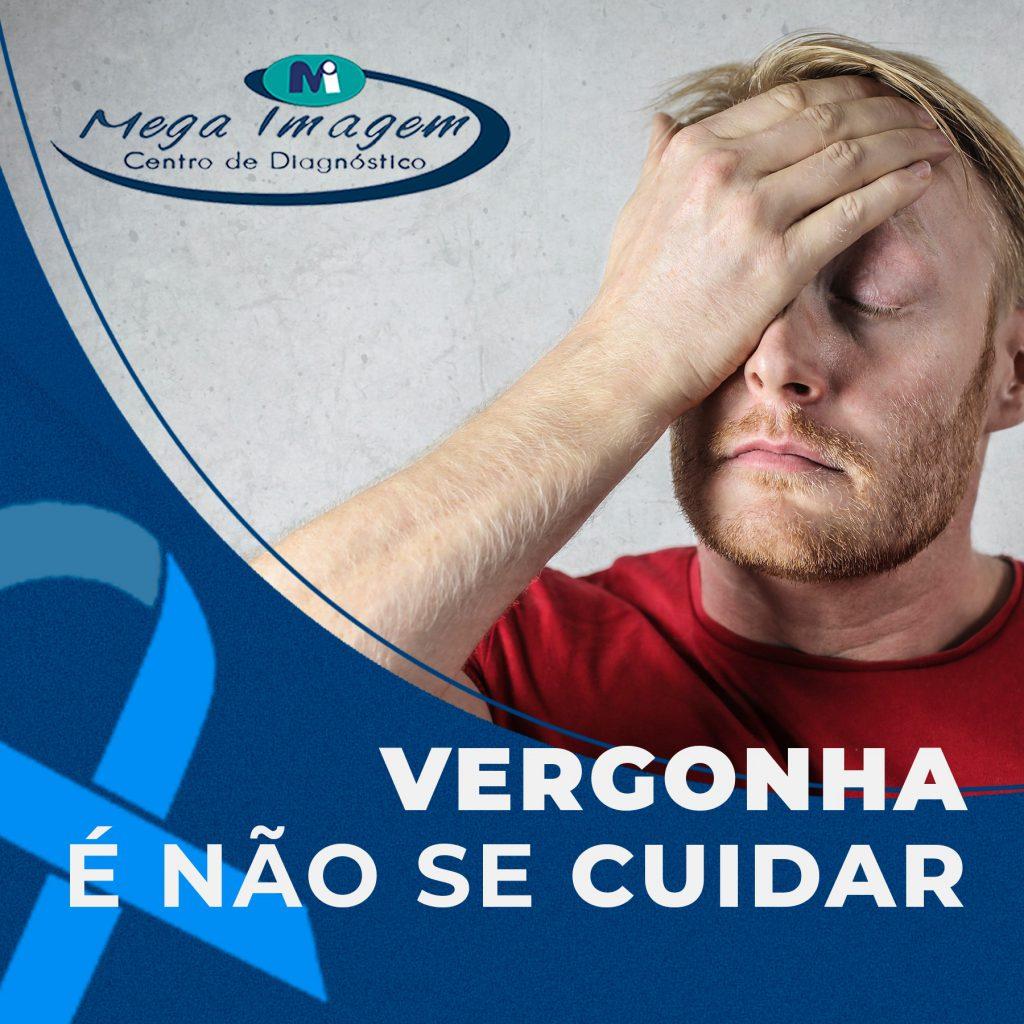 Vergonha não é fazer o exame, é não cuidar da sua própria saúde!!