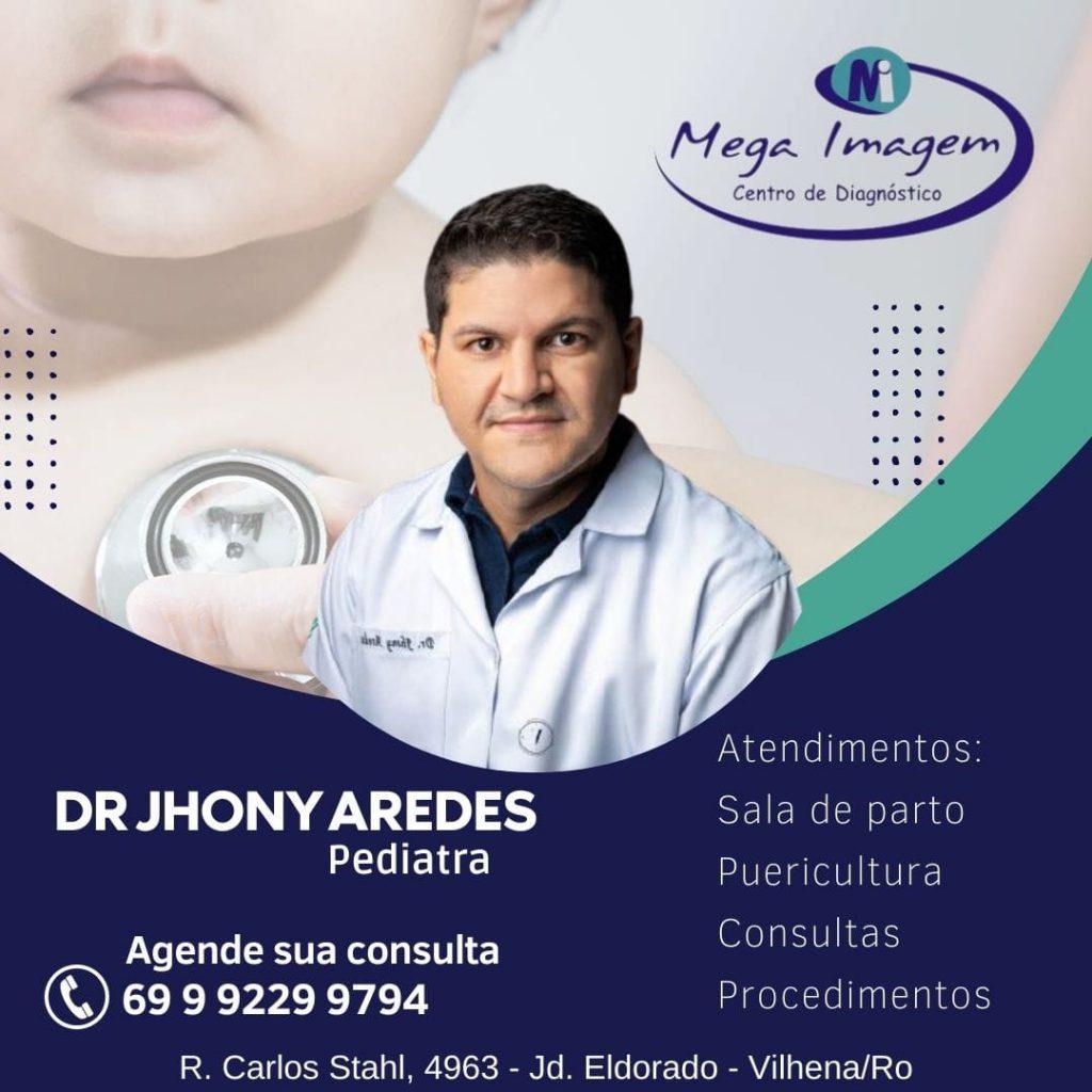 Dr. Jhony Aredes – Médico Pediatra.