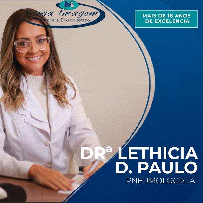 Dra. Lethicia – Pneumologista